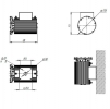 Светодиодный светильник ДБУ 17-70-850-Г60