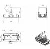 Светодиодный промышленный светильник ДПП 07-68-850-Г60