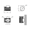 Светодиодный светильник ДБУ 17-70-850-Д120