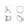 Светодиодный светильник FFL-sport 09-230-957-D60