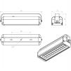 Светодиодный промышленный светильник FBL 07-52-850-F30