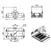 Светодиодный светильник Ex-ДПП 07-78-50-Д120
